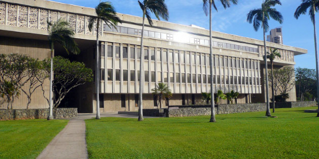 DAGS Headquarters at Kalanimoku Building