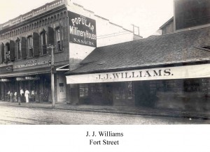 JJ Williams - Fort Street