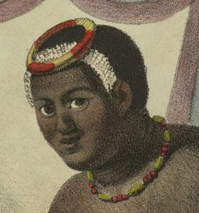 exhibit Kaahumanu head