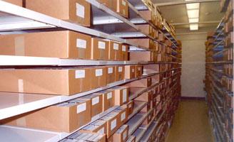 exhibit SRC microfilm vault