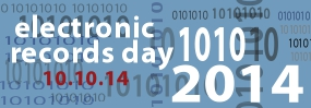Electronic Records Day Banner 285x99