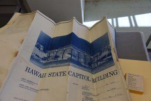 Original Blueprints of the Hawaiʻi State Capitol