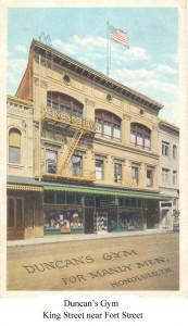 Duncan's Gym - King Street near Fort Street