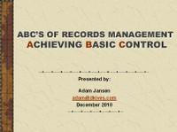 Hawaii Records Training