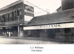 JJ Williams - Fort Street