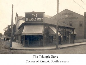 The Triangle Store - Corner of King & South Streets