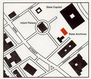 map of archives building
