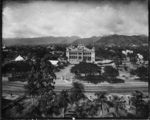 Iolani Palace, circa 1890s
