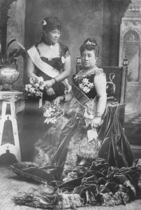 Queen Kapiolani and Princess Liliuokalani at Queen Victoria's Golden Jubilee