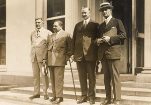 L to R: Chilingworth, Kuhio, Horner, Dillingham